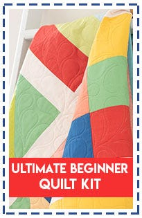 Ultimate Beginner Quilt