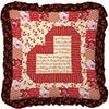 Heartstrings Throw Pillow Pattern