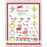 Peppermint Lane Block of the Month by It's Sew Emma